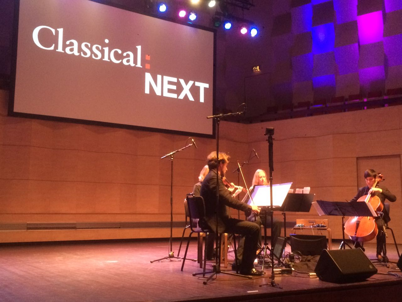 Amon Quartet at ClassicalNEXT